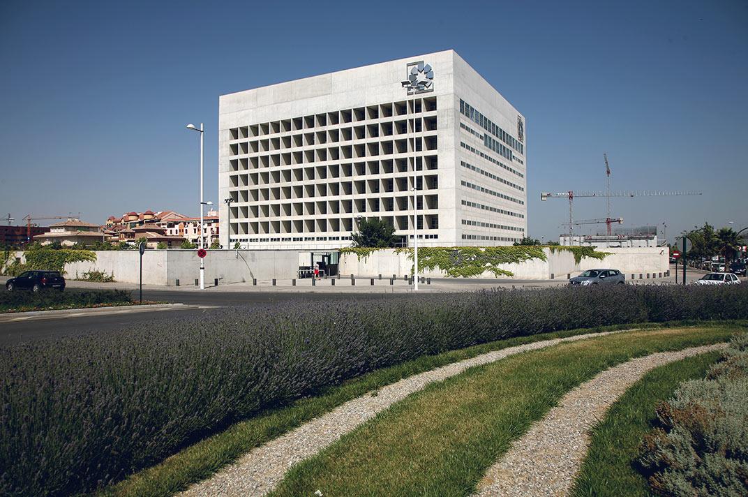 Gesti n arquitectura sede de caja granada bmn for Caja rural granada oficinas